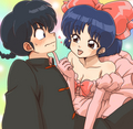 ranma and akane - lumforever fan art