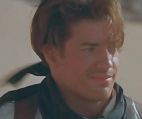 The Mummy Filme Hintergrund possibly with a portrait titled rick o'connell