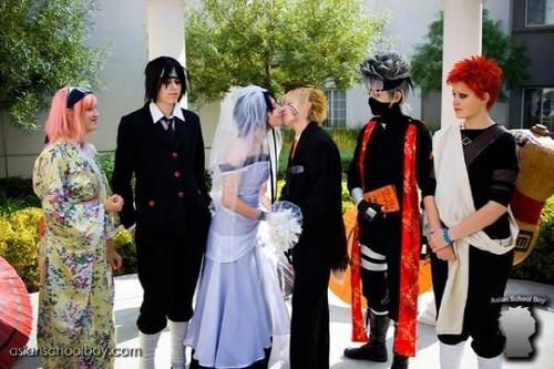 sasunaru's wedding