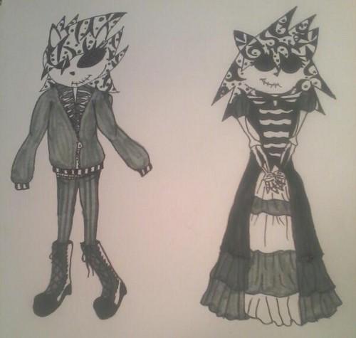 skeleton sisters
