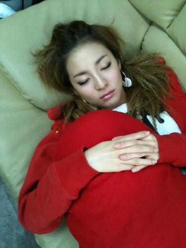 sleeping dara