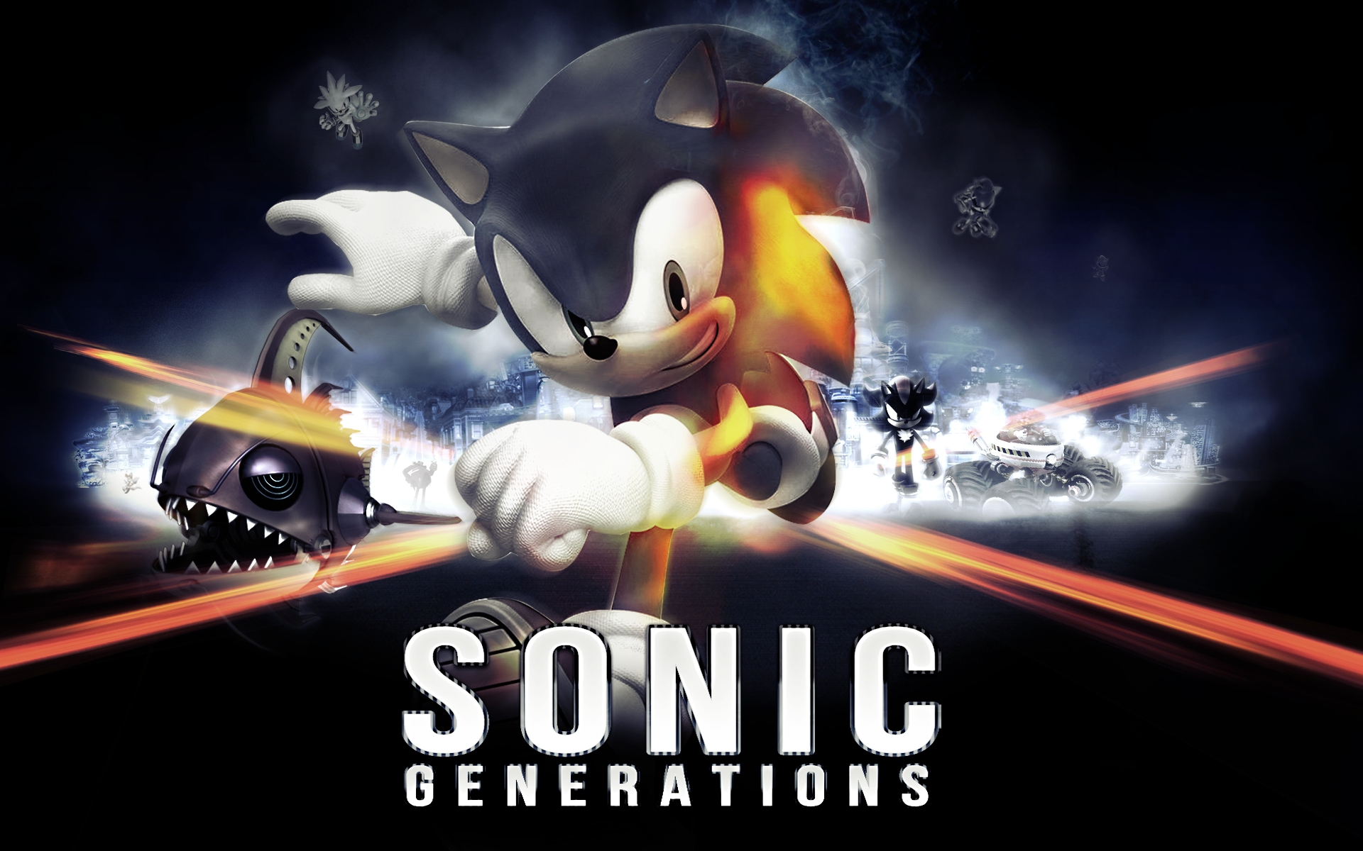 Stay Cool With Sonic And Shadow Images Sonic Generations Battle