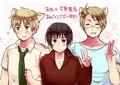 stray trio