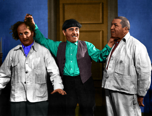 Three Stooges wallpaper probably with a business suit, a well dressed person, and a workwear titled the three stooges