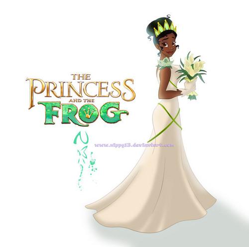 Disney princess images tiana 39 s wedding hd wallpaper and for Princess tiana wedding dress