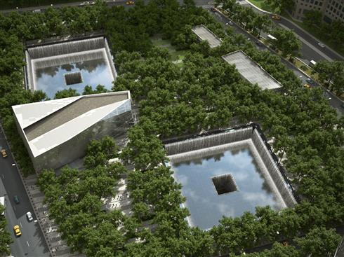 wtc memorial reflection pool