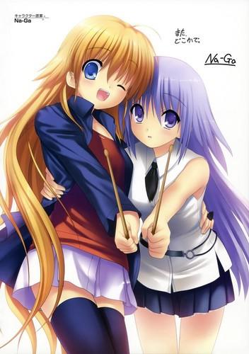 [Angel Beats] Irie & Shiori