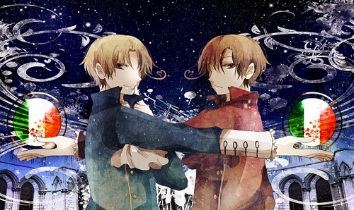 ~Ita-chan and Roma-chan~
