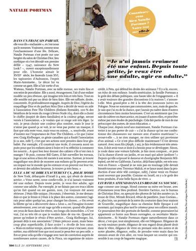 Natalie Portman covers Elle France