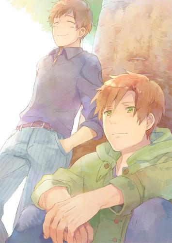 ~Spain and Romano~