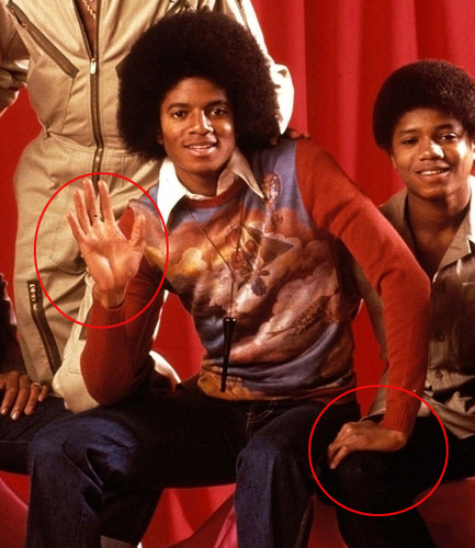 Michael Jackson wolpeyper titled || The Vitiligo Proof ||