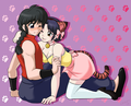 乱馬とあかね ranma x akane - lolly4me2 fan art