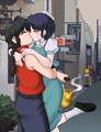 乱馬とあかね ranma x akane (ranma 1/2) - anime fan art