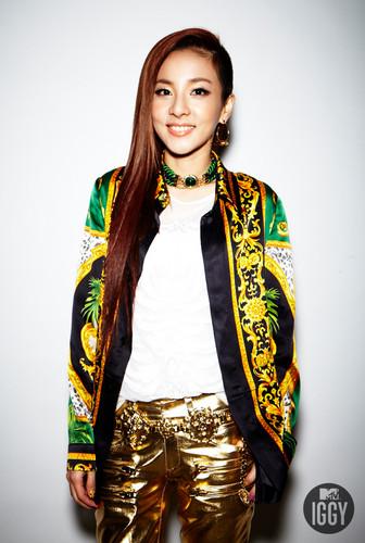 2NE1 엠티비 Iggy photoshoot