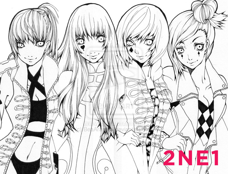 Big Bang Kpop Coloring Pages Coloring Pages