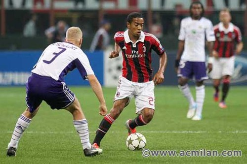 AC Milan VS RSC Anderlecht 0-0, Uefa Champions League 12/13