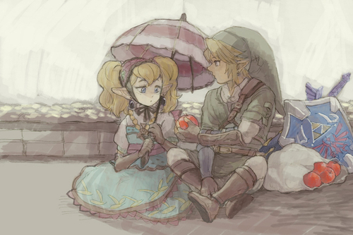 Agitha and Link