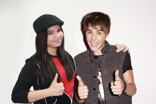Alyanna and Justin Bieber