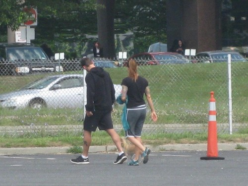 Amy and CM Punk