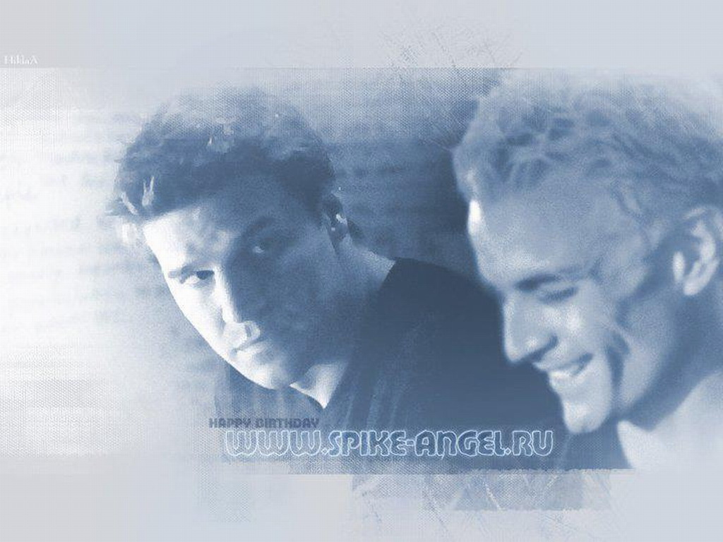Angel vs Spike images Angel & Spike HD wallpaper and ...
