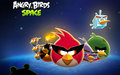 Angry Birds luar angkasa wallpaper