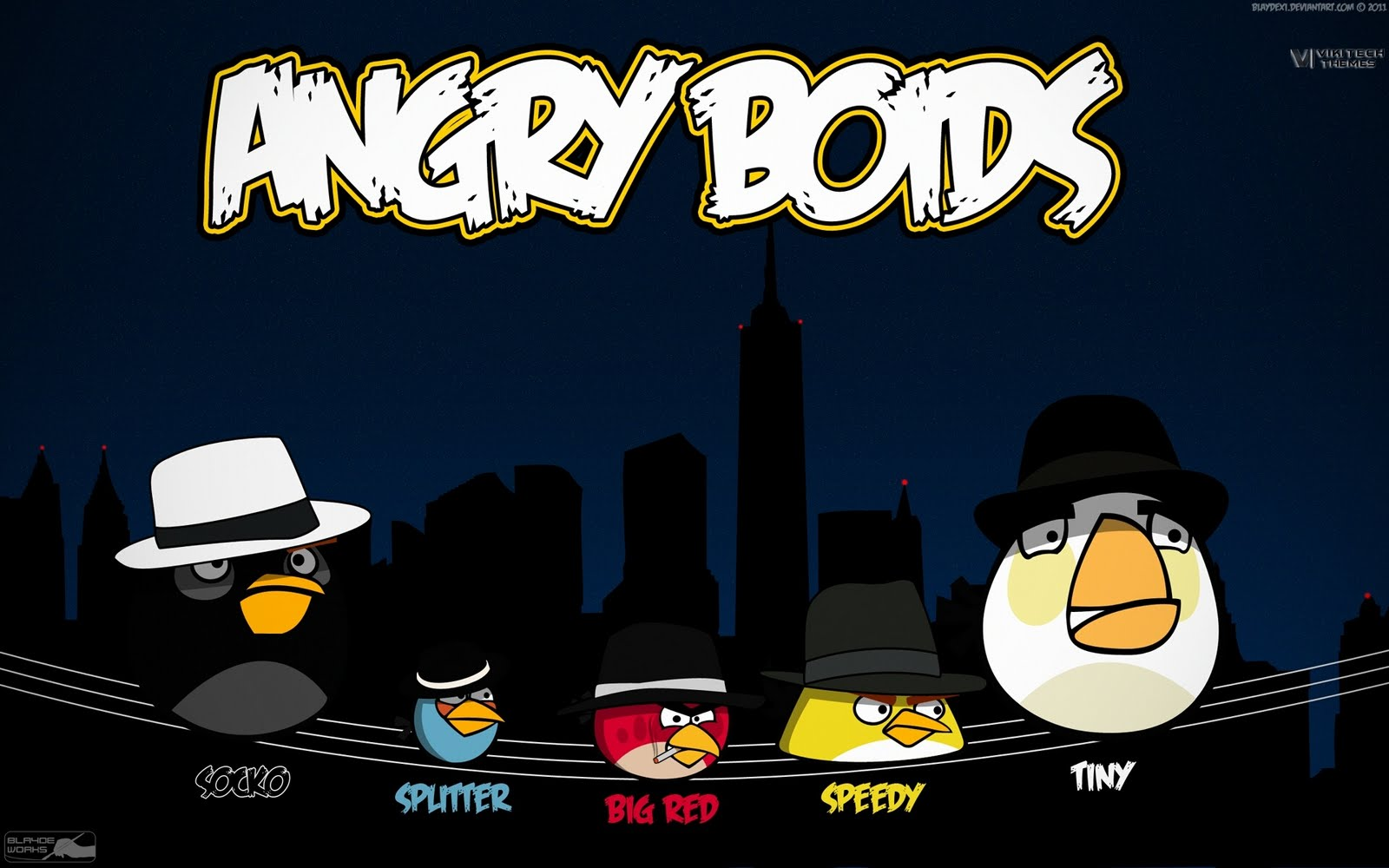 Angry birds angry boids