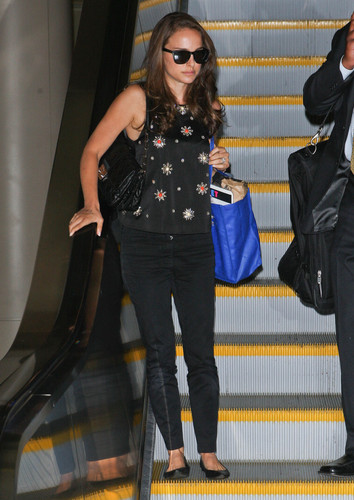 Arriving at LAX, Los Angeles (September 19th 2012)