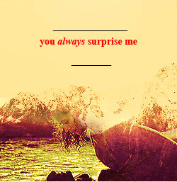 Arwen: 당신 Always Surprise Me (4)