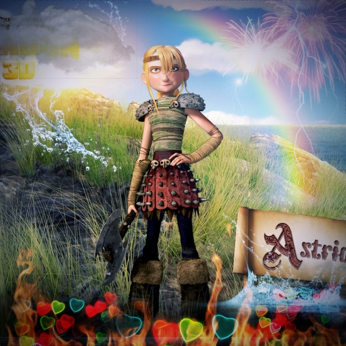 How To Train Your Dragon Series Images Astrid Wallpaper And Background Photos