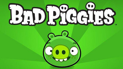 Angry Birds wallpaper possibly with anime called Bad Piggies
