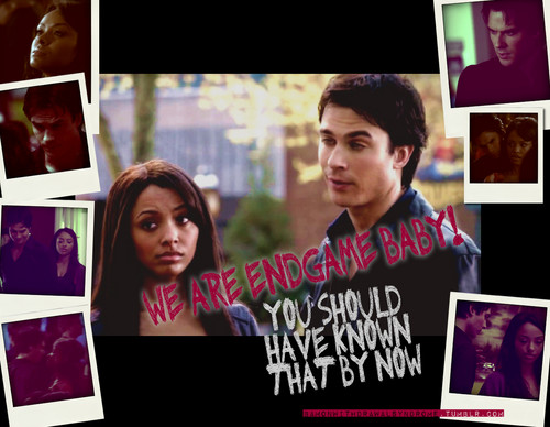 Damon & Bonnie wallpaper possibly with a sign, a newspaper, and anime titled Bamon awesomeness by bamonwithdrawalsyndrome.tumblr.com/