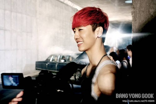 Bang Yong Guk wallpaper probably with a portrait called Bang Yong Guk