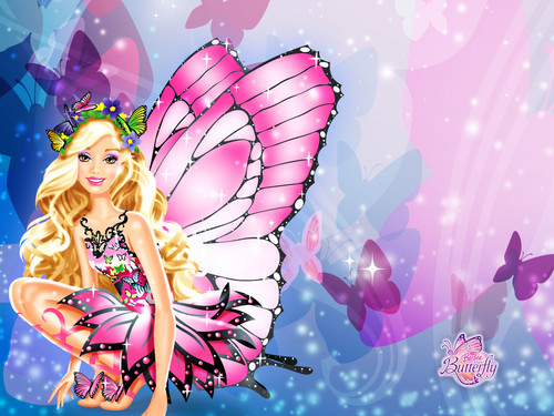 Barbie wallpaper possibly containing a bouquet, a camellia, and a rose entitled Barbie