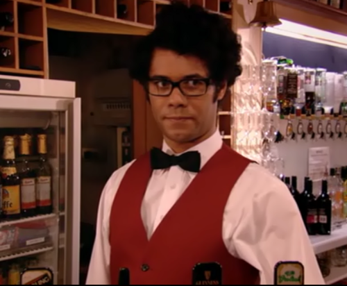 The IT Crowd wallpaper titled Barman