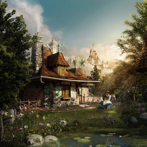 Belle's cottage - beauty-and-the-beast Photo