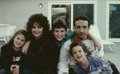 Ben Savage with his family