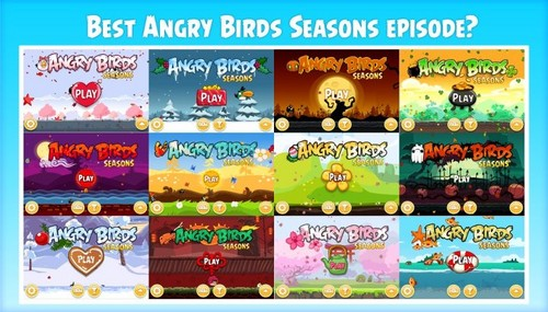 angry birds wallpaper entitled Best Angry Birds Seasons Episode?