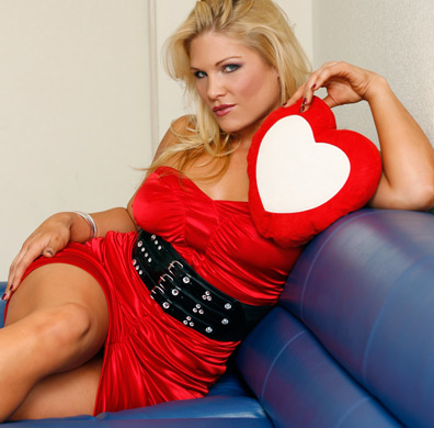 beth phoenix wallpaper probably with tights called Beth Phoenix Photoshoot Flashback