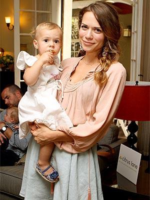 Bethany Joy Lenz & Baby Maria