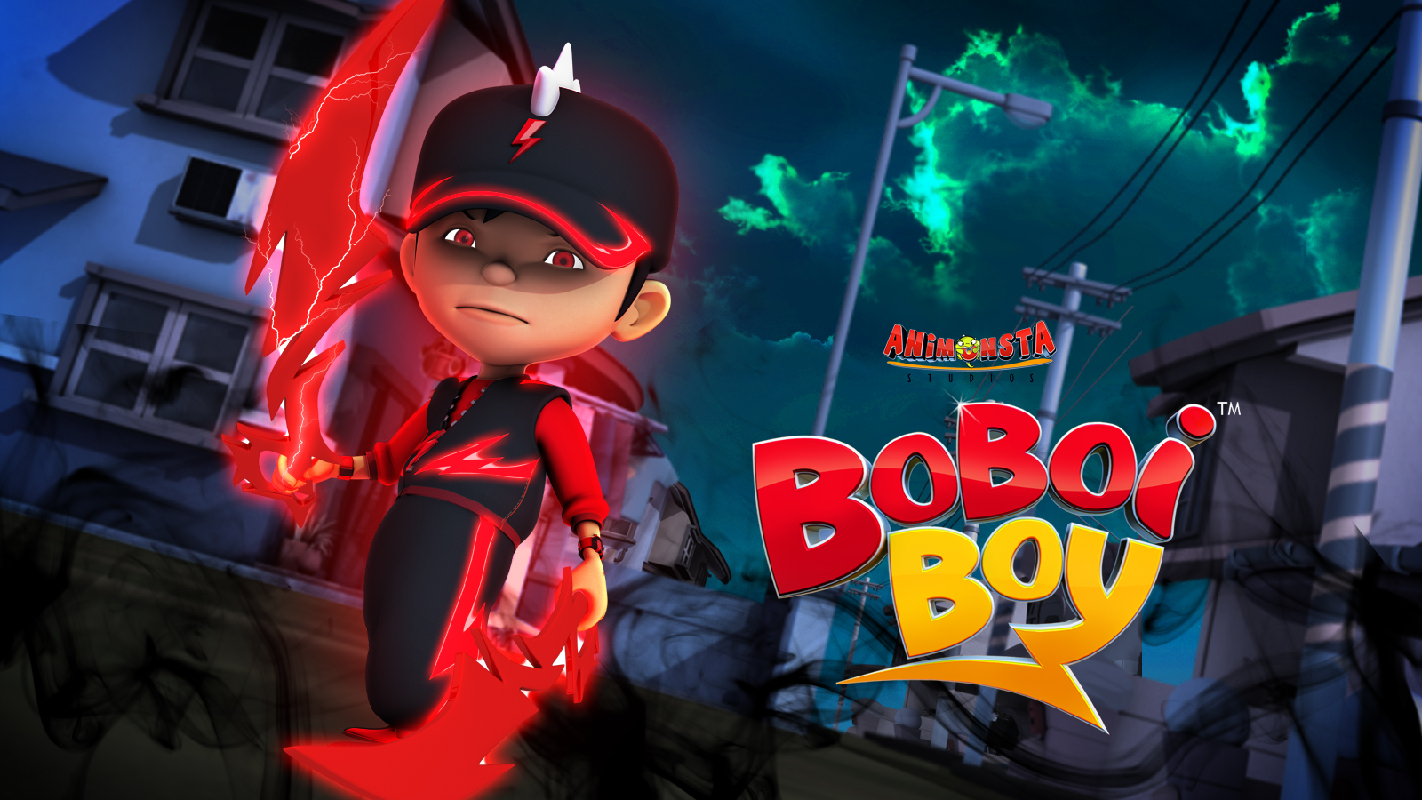 Boboiboy Images Boboiboy Halilintar Wallpaper Hd Wallpaper And