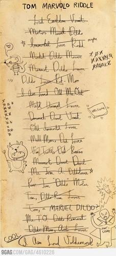 Brainstorming Voldemort