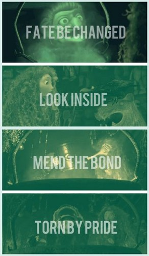 Fate be changed, look inside, mend the bond torn oleh pride