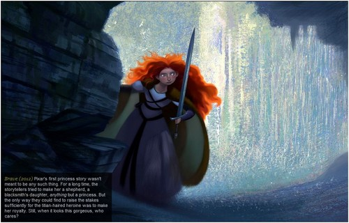 Merida - Legende der Highlands concept arts