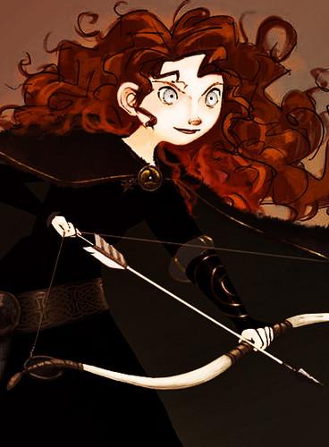 Công chúa tóc xù người hâm mộ arts