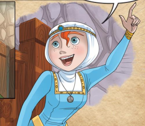 Brave interactive mobile comic