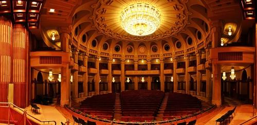 Bucharest Romania Palace of Parliament interior