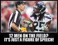 C'mon Refs - seattle-seahawks photo