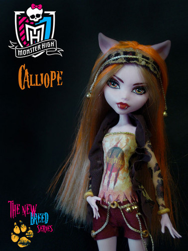 Monster High wallpaper titled Calliope