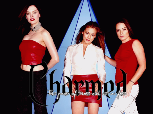 Charmed wallpaper with a bustier entitled Charmed