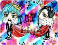 Чиби T.O.P & G-Dragon Oppa!
